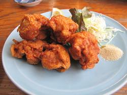 13鶏唐揚げ430円@中華そば・ひさご