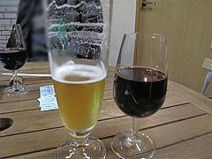 料理:ハートランドビールとワイン@ワイン角打ち・赤木酒店・大橋