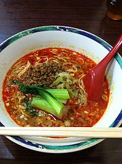 ランチ:坦々麺650円@中華万里・長浜鮮魚市場会館・福岡