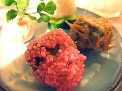 料理:ピンク粒道明寺@ひなまつり・女子会