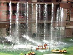 噴水@キャナルシティ博多