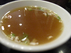 ランチ:スープ@中華・珍萬21・港