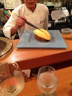 11オムライスカット@洋食キチキチ