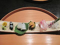 懐石:刺身@日本料理・浄水茶寮・薬院