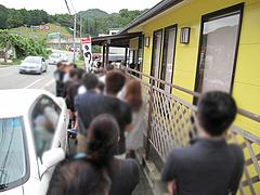 外観:行列並んでみた。@うどん王子・筑紫郡那珂川町