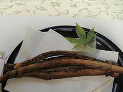 料理:ごぼう籠・宝船仕立て@料亭きくしげ・西中洲