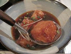 5名物とろとろごま豆腐の揚げ出し@和味ことこと