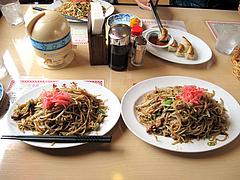 料理:焼きそばと大盛り900円@想夫恋・東合川バイパス店・久留米