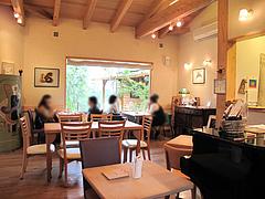 店内:テーブル席@レーブ・ド・ベベ・小郡