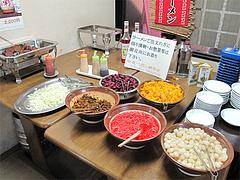 料理:漬物コーナー@ラーメン居酒屋赤のれん&とん吉・箱崎