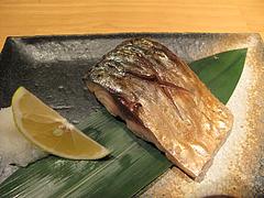 10料理:焼き鯖@鮨ダイニング太兵衛・博多区古門戸町