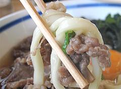 料理:スタミナうどん麺@筑前うどん黒田藩・井尻
