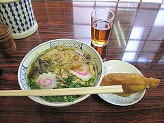 料理:そば450円といなり100円@はるやうどん・小倉