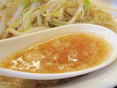 ランチ:ラーメン小スープ@島系本店・志免本店