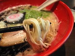 ランチ:醤油とんこつ麺の細麺@ラーメン・博多五行・今泉
