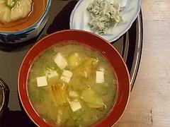 14ランチ:味噌汁・大根おろし@和食・四季菜・益々・小郡