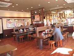 店内:対面式カウンター@丸亀製麺・西月隈店