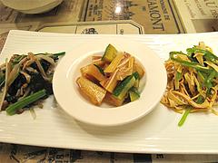 4夜:青菜・耳皮・豆腐干@マルコキッチン・中華・天神