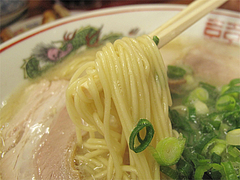 料理:ラーメン麺@ラーメンやまもと春日本店