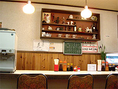 『ちじわ』の店内@福岡・大橋