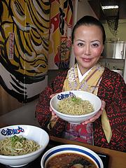 1ランチ:つけ麺です…@濃厚つけ麺・風雲丸・福岡鶴田店