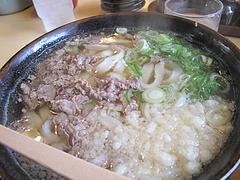 料理:肉470円@葉隠うどん・博多駅