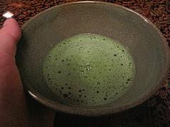 料理:抹茶@僧伽小野・糸島