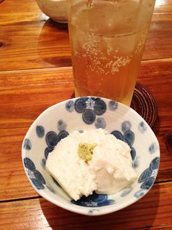 1ハイボールと豆腐@つねちゃん