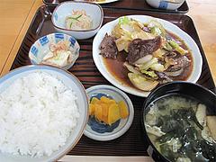 12ランチ:牛さがり焼肉定食650円@ごはん亭・清水