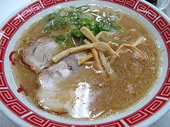 料理:赤のれんラーメン550円@ラーメン居酒屋赤のれん&とん吉・箱崎