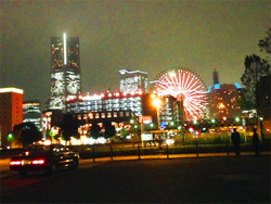 12夜景@横浜赤レンガ倉庫・ビルズ