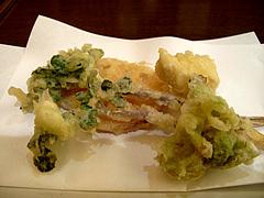 11そば料理:天ぷら@やぶ金・蕎麦・大名
