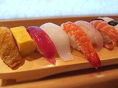料理:ランチにぎりセット@寿し赤坂・福岡