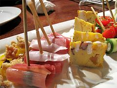 6パーティー:前菜タパス・アップ1@オリエンタルレストラン・サラマンジェ・キャナルシティ博多