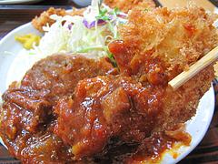 9ランチ:ケチャップソースのチキンかつ@ごはん亭・清水