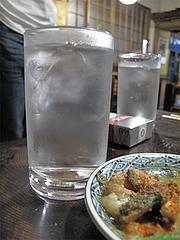 料理:芋焼酎350円@くらり庵