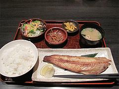 3ランチ:ホッケ塩焼き膳490円@しょうき・長住