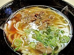 料理:かしわうどん390円@セクスィー系な、おばちゃんうどん・渡辺通サンセルコ