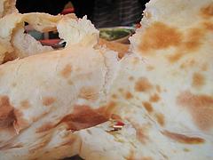 ランチ:ナン@本場インド料理の店D.カジャナ・大手門店