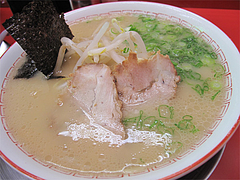 料理:ラーメン550円@王龍ラーメン・赤坂