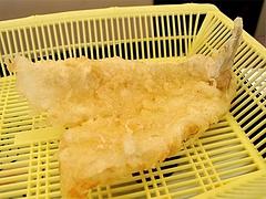 料理:キスの天ぷら150円@だるまの天ぷら定食・吉塚本店