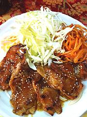 5ランチ:人気ナンバーワン・豚ロースしょうが焼き定食@ビック鯛はのぼる・サンセルコ