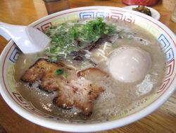 12ラーメン600円+煮玉子100円@ラーメンおいげん