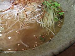 ランチ:潮薫醤油ラーメンスープ@麺劇場・玄瑛