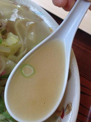 10チャンポンスープ@あっぱれ食堂