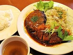 料理:人気!A定食(ハンバーグとチキンカツ)890円@ハローコーヒー清水店