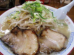 料理:もやしラーメン650円@麺屋・多吉・大橋