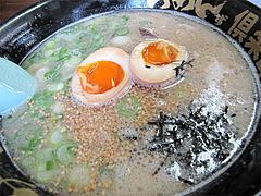 料理:煮玉子らーめん650円@らーめんず倶楽部げんき