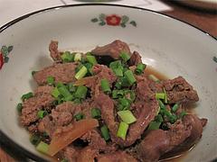 3バー:とり肝の生姜煮@ポコペンのペコポン・三角市場