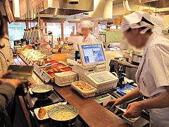 店内:レジ@丸亀製麺・那珂川店